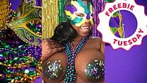 Porn Star Jessica Grabbit Mardi Gras