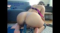 Hot sexydea masturbating on live webcam