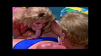 Slutty Big Titty MILF gets Fucked By The Pool thumbnail
