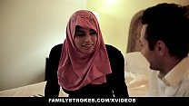 10417 FamilyStrokes - Pakistani Wife Rides Cock In Hijab preview