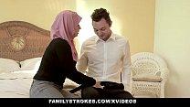 FamilyStrokes - Pakistani Wife Rides Cock In Hijab صورة