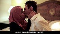 FamilyStrokes - Pakistani Wife Rides Cock In Hijab thumbnail
