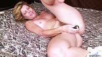 Milf Rosetta Define Pleasure of Fucking Vibrator