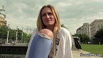 German Scout - Medizinstudentin Linda LeClair ohne Gummi gefickt Vorschaubild