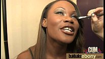 Ebony Cum Slut Hottie Bukkake Party 16 - Download mp4 XXX porn videos