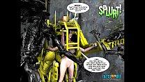 3D Comic: Spermaliens 2 Vorschaubild
