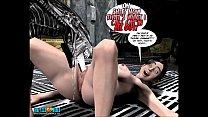3D Comic: Spermaliens 2 preview image