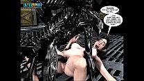 3D Comic: Spermaliens 2