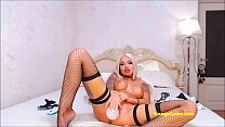 Hot blonde BongaCams babe shows full spectrum of sex talents
