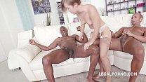 Big butt DAP slut Sasha Zima takes big black monster cocks up her asshole thumbnail