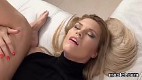 Slutty Czech Sweetie Spreads Her Soft Cunt To The Extreme
