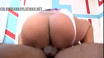 Young latina freak hoe really knows how to fuck