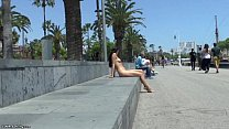 Naughty teen jessy naked in barcelona preview image