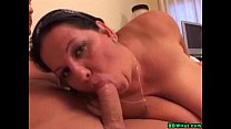 Huge Tits BBW MILF Sucks Cock And Gets Fucked Preview