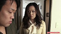 JAV Uncensored with english subtitle: Mom gives son blowjob before leaving Vorschaubild