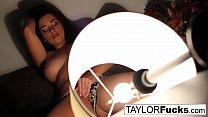 Taylor Vixen's hotel room masturbation