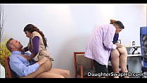 Swapping Teen Daughters For Fucking At Work Day...