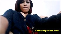 Cuban Teen Squirting for the First Time Ever - ...
