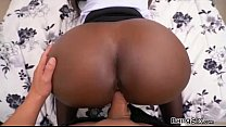 Hot chick named Vickie Starxxx shows bangbros the goods thumbnail