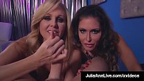 Cock Sucking Milfs Julia Ann & Jessica Jaymes S