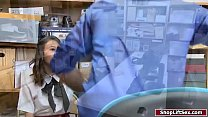 Asian shoplifter fucked by LP officer - 9Club.Top