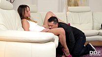 Big bum hole - Rich glamour teen gets hardcore fucked by sugar daddy thumbnail