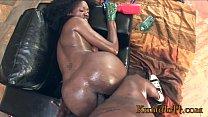 Kumalott - Ebony Like Her Ass Destroyed By BBC