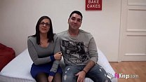 Young Spains couple sells their intimacy up and fucks for the cameras for the first time pornhub video