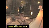 Dominatrix Squirts All Over Black Slave thumbnail