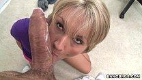 Bangbros - Sexy Blonde Sucks Cock And Balls