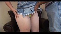 Attractive teen babe loves being boned hard