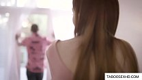 Redhead teen forced sex with plumber