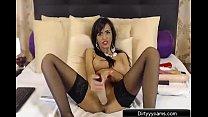 Hot Romanian MILF Masturbates! - Dirtyyycams.com