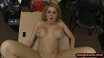 Big tits blond sells her tiara and boned at the...