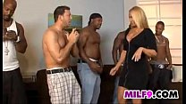 Sexy Blonde Mother On A Some Big Cock
