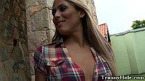 Amateur Tranny Transen Engen Hintern Genagelt