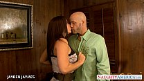 Chesty brunette Jayden Jaymes gets fucked