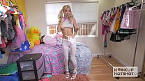 Gorgeous Tiny Blonde Gets the Best Rough Sex of her Life Preview