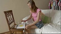 Tight teen Zann a