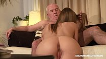 Old farmer gets horny and fucks his hot niece Thumbnail