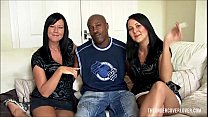 Cuckold British Sisters go black preview image