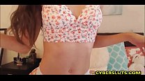 Olivia Young - Gorgeous 18-Year-Old Teen Mastur...