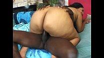 pornbeast, Ebony BBW rides huge black cock