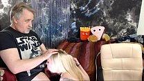 9835 Cuming on Roxys Boobs After Deepthroat Blowjob preview