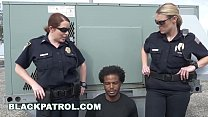 BLACK PATROL - Thug Runs From Cops, Gets Caught My Dick Is Up, D't Shoot! - 9Club.Top
