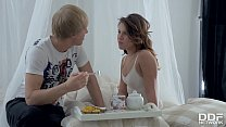 Good Morning Fuck Session For Young Russian Nympho