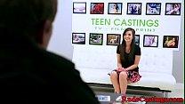 Brutal casting audition for hardfucking teen image