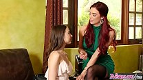 Step mom (Jayden Cole) Teaches (Riley Reid) how... thumb