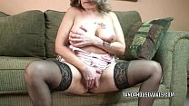 Mature slut Sandie Marquez plays with her Latina pussy preview image