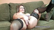 Mature slut Sandie Marquez plays with her Latin...